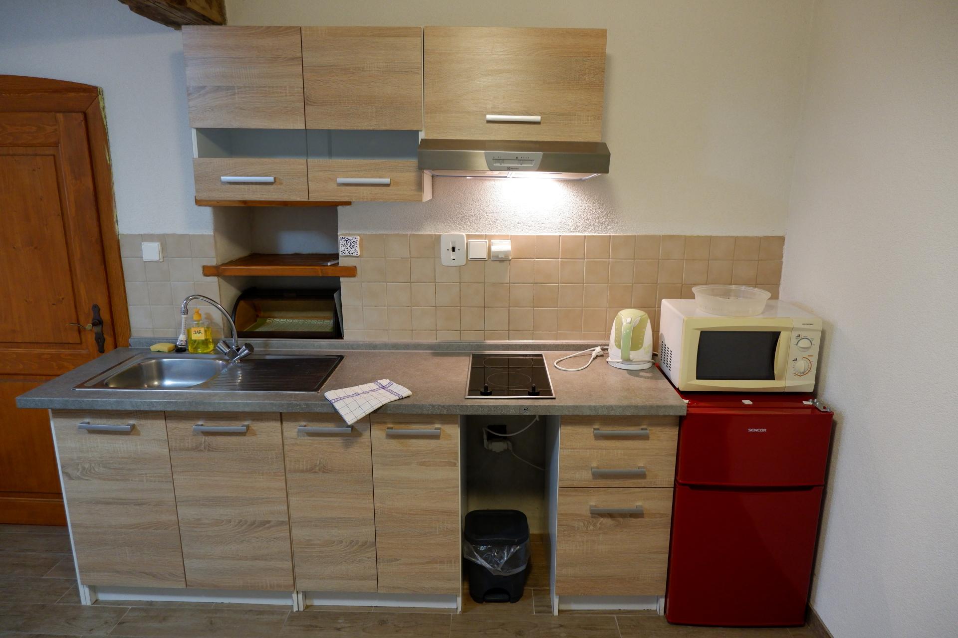 Apartmán 3. kuchyně