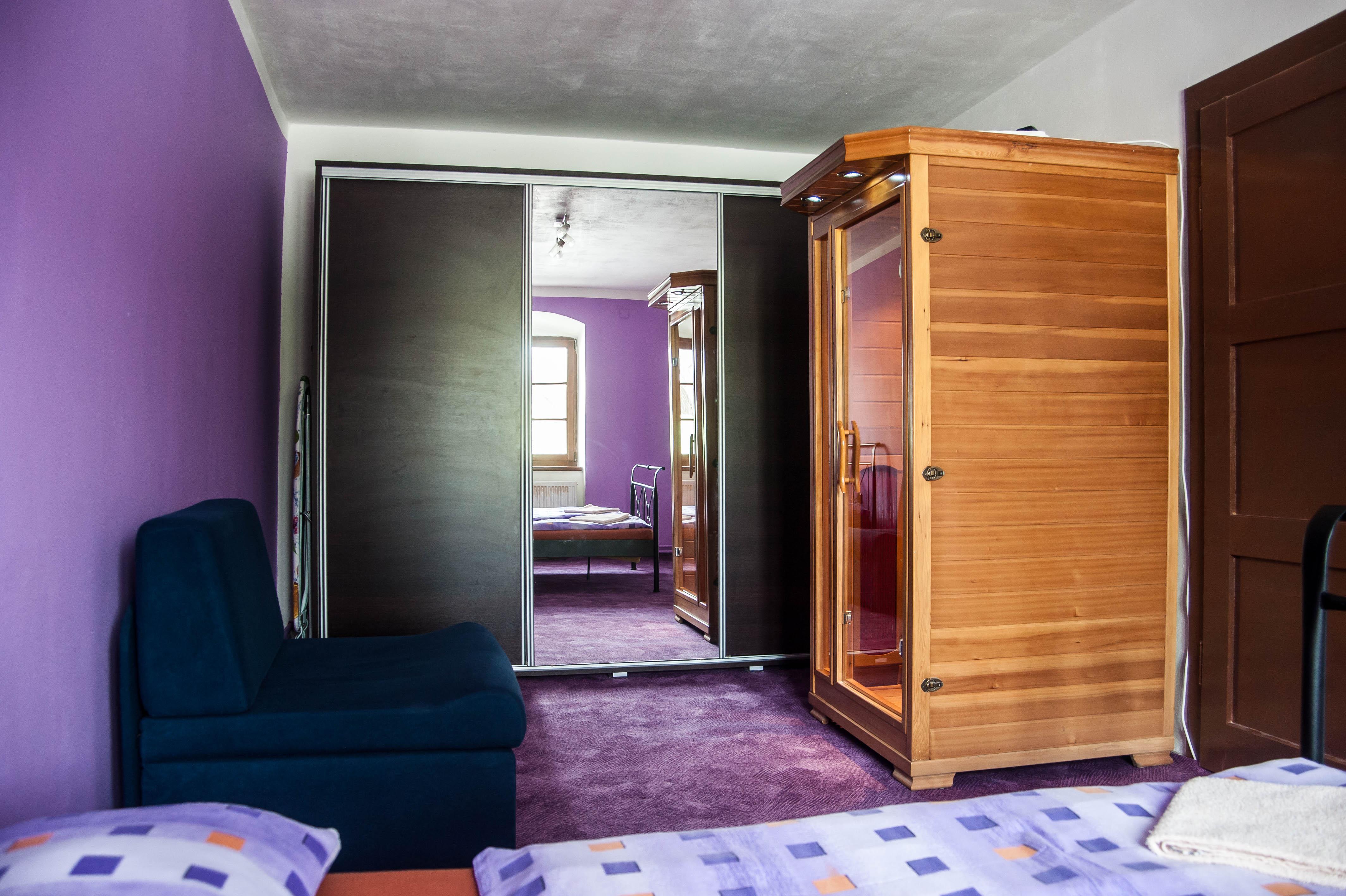 Infra sauna apartmán 1.